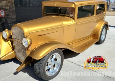 1931 Plymouth Sedan in Candy Gold for sale at Old Town Automobile