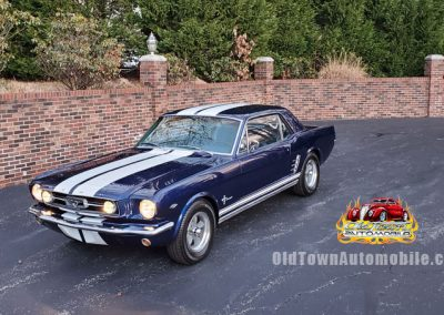 1966 Ford Mustang Coupe in Blue for sale