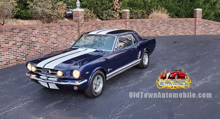 1966 Mustang Coupe dark blue
