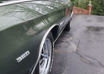 1970 Chevelle in forest green metallic at Old Town Automobile
