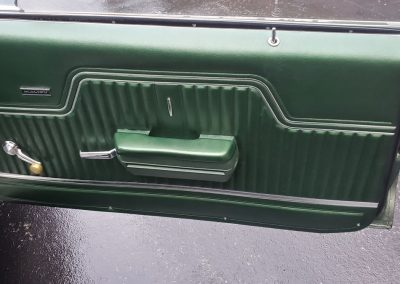 door panel 1970 Chevelle in forest green metallic at Old Town Automobile