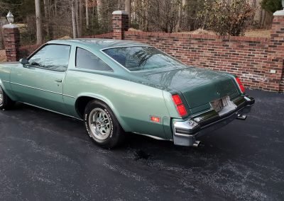 1977 Oldsmobile Cutlass in medium green at Old Town Automobile