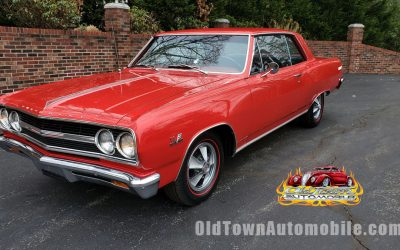 UNDER CONTRACT – 1965 Chevelle SS Z16 Tribute Regal Red