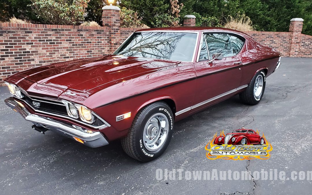 1968 Chevelle SS in Cranberry Red Stock 1987 for sale