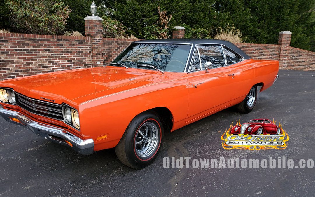 1969 Plymouth Road Runner in Vitamin C Orange for sale Stock 1985