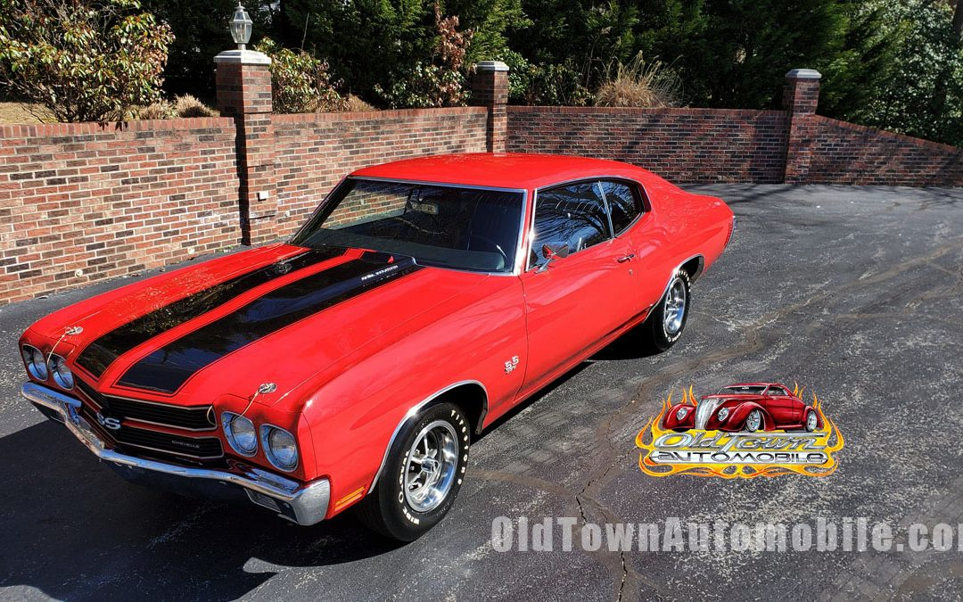 1970 Chevelle SS in cranberry red for sale