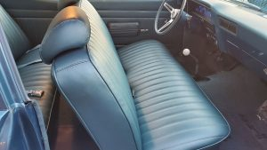bench seat and dashboard