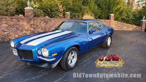 1973 Chevrolet Camaro Rally Sport in Viper Blue