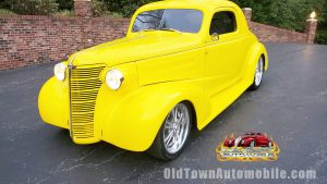 1938 Chevrolet Coupe in Yellow for sale Old Town Automobile