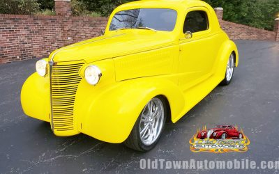 SOLD – 1938 Chevrolet Coupe