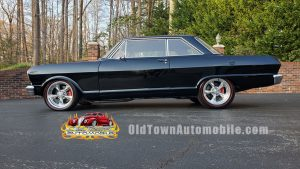 1964 Chevrolet Nova RestoMod in black for sale at Old Town automobile