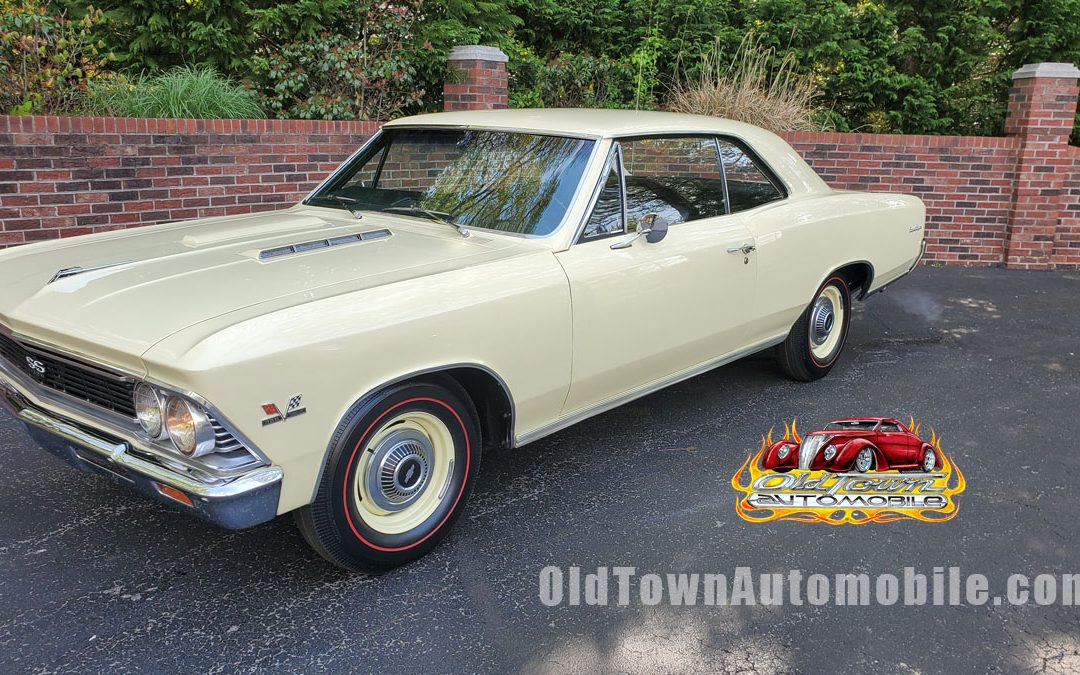 1966 Chevelle SS in butternut yellow for sale at Old Town Automobile
