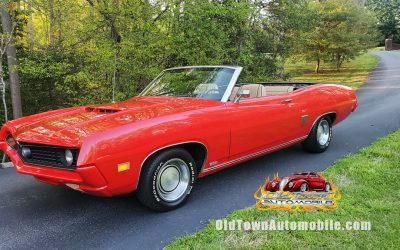 SOLD – 1970 Ford Torino GT Convertible
