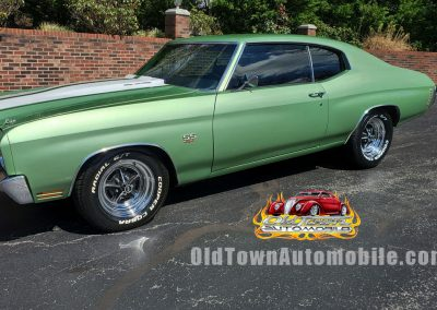 1970 Chevelle in metallic green for sale