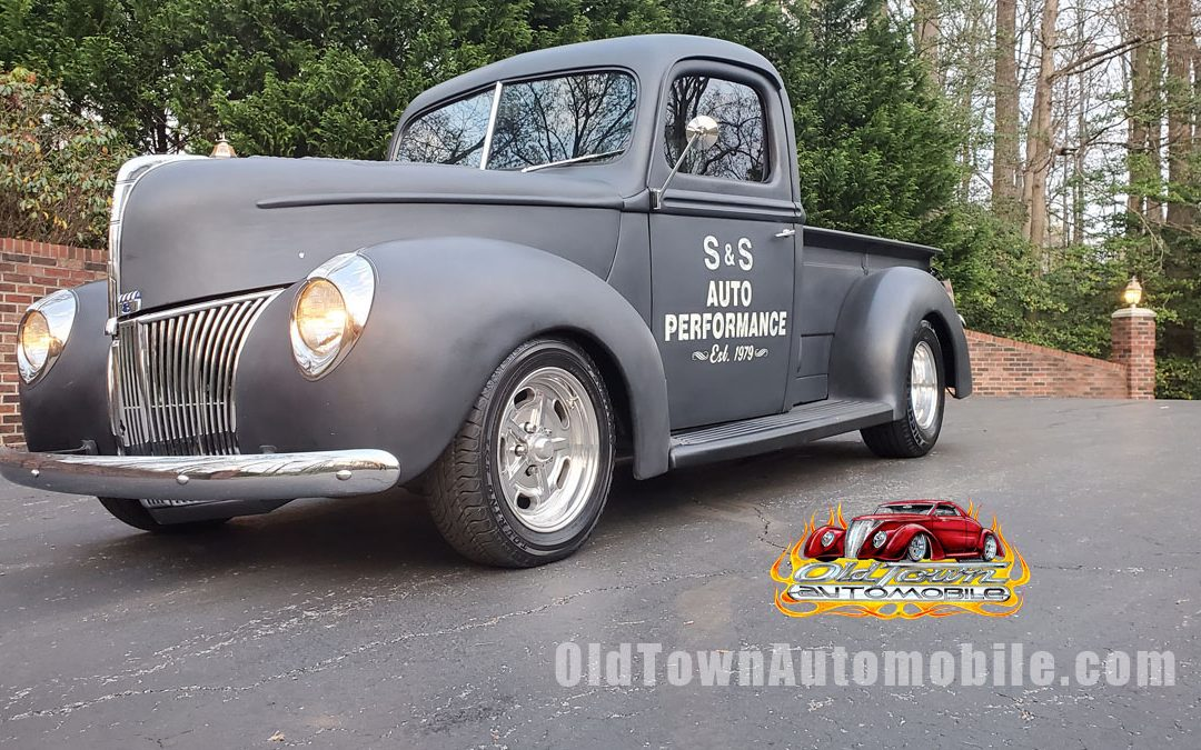 SOLD – 1940 Ford Pickup All Steel