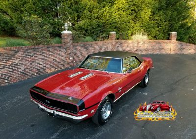 1968 RS SS in Matador Red Stock #2000 for sale at Old Town Automobile