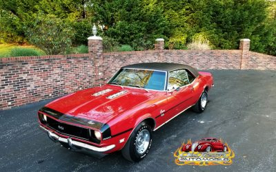 1968 Camaro Rally Sport SS in Matador Red