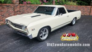 1967 El Camino Butternut Yellow for sale Old Town Automobile