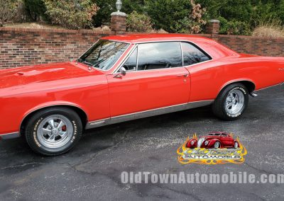 1967 Pontiac GTO in red for sale at Old Town Automobile