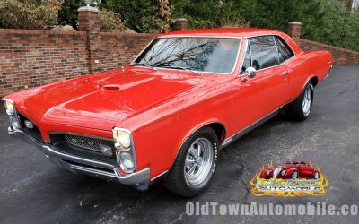 1967 Pontiac GTO in Torch Red