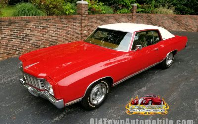 1972 Chevy Monte Carlo in Red