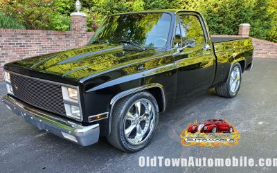 SOLD – 1986 GMC Sierra Classic C10 Shortbed