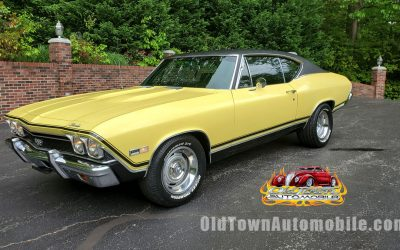 1968 Chevelle SS – Real 138 VIN car