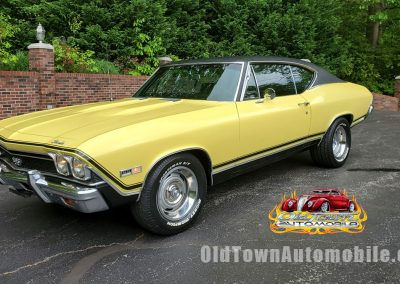 1968 Chevelle SS in yellow for sale
