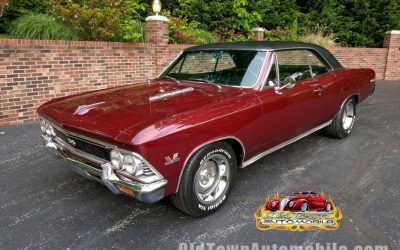 SOLD – 1966 Chevrolet Chevelle in Madiera Maroon