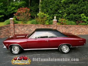 1966 Chevrolet Chevelle in Madiera Red for sale