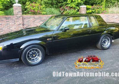 1986 Buick Grand National in black stock 2009