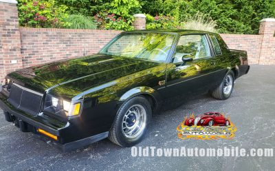 SOLD – 1986 Buick Grand National – Only 32K Miles
