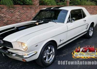 1966 Ford Mustang Coupe in White