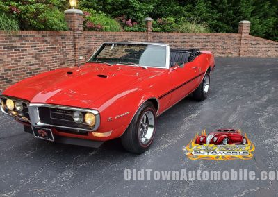 1968 Pontiac Firebird in Red for sale at Old Town Automobile