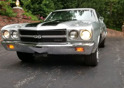 1970 Chevelle in Cortez Silver for sale at Old Town Automobile