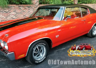 1970 Chevelle in Cranberry Red for sale