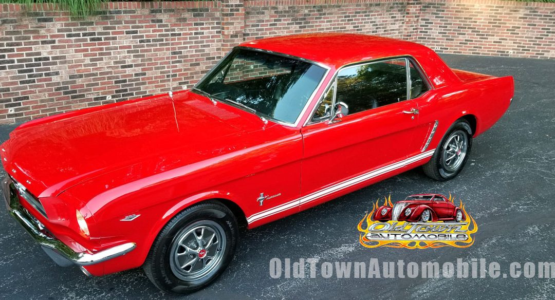 1965 Ford Mustang Coupe in Candy Apple Red