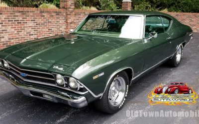 SOLD – 1969 Chevelle in Dark Green, Clean and Solid