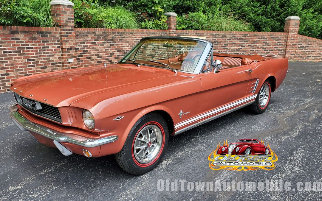 1966 Ford Mustang Convertible in Emberglo