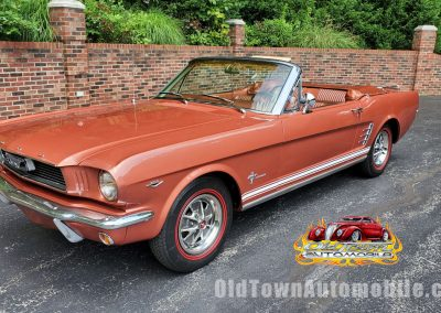 1966 Ford Mustang Convertible in Emberglo for sale