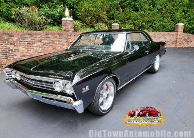 1967 Chevelle in black for sale at Old Town Automobile