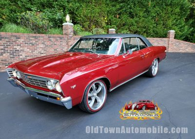 1967 Chevelle Restomod in Cranberry Red for sale