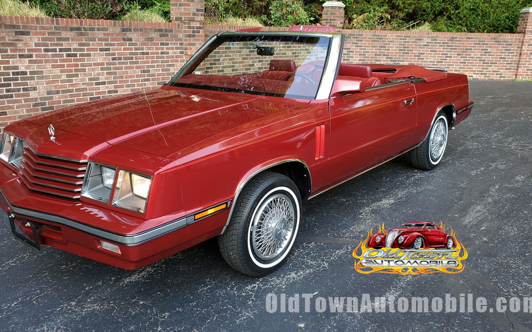 1985 Dodge 600 Convertible for sale