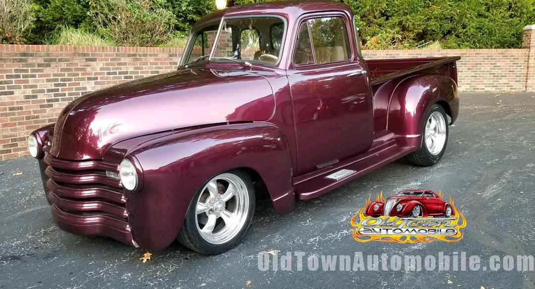 1952 Chevrolet 3100 5 Window Coupe for sale