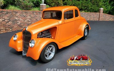1933 Willys 77 Coupe in Candy Tangerine