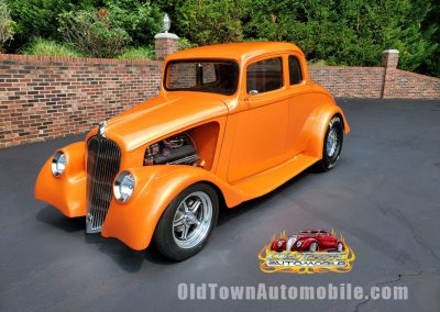 1933 Willys 77 Coupe in tangerine for sale