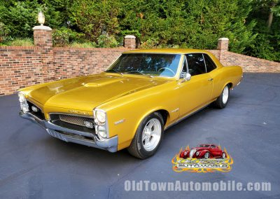 1967 Pontiac Tempest Custom in Candy Gold Stock 2036