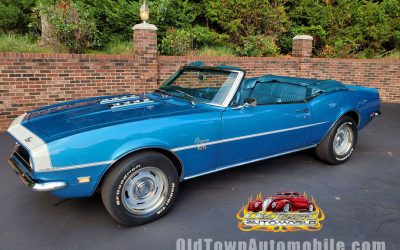 SOLD – 1968 Chevy Camaro Convertible in Lemans Blue