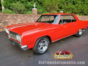 1965 Chevelle in Torch Red