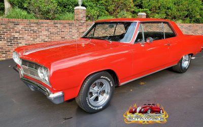 1965 Chevrolet Chevelle in Torch Red